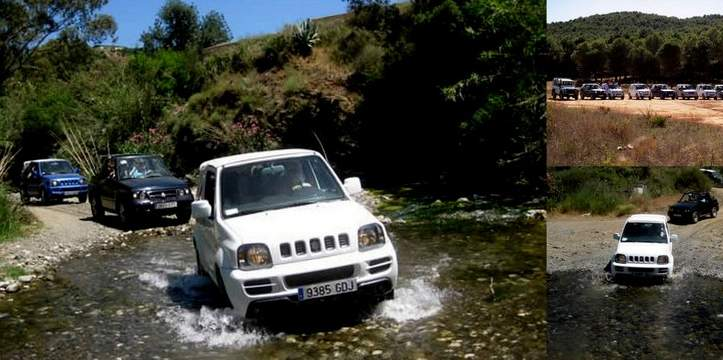 Marbella activities, quad biking tours, Canyoning, Go